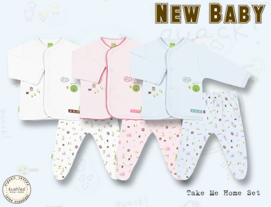 Kushies Layette - perfect for a newborn_best baby clothes