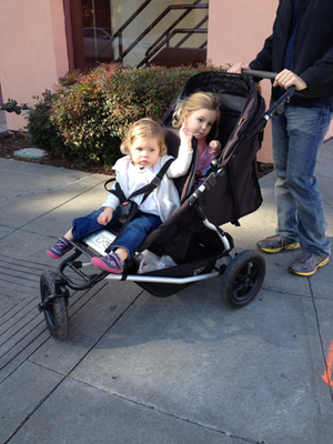 All-Terrain Tandem Stroller - Mountain Buggy + one
