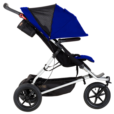 +one_extendable_mesh All-Terrain Tandem Stroller