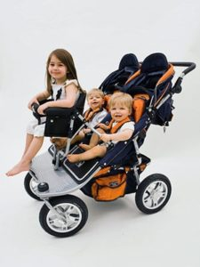 Valco Baby Tri-Mode Double with Joey Seat