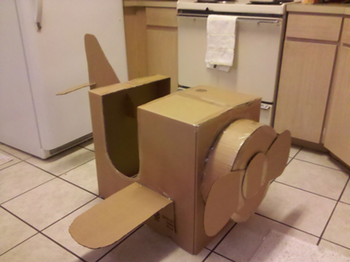 box airplane