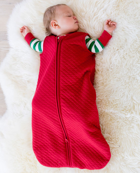 winter essentials for baby - sleeping bags at home