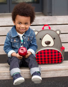 Buffalo Check Skip Hop Bear Backpack