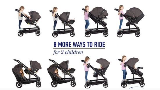 Best Convertible Strollers - Graco Uno2Duo