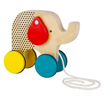 Petit Collage Elephant Pull Toy