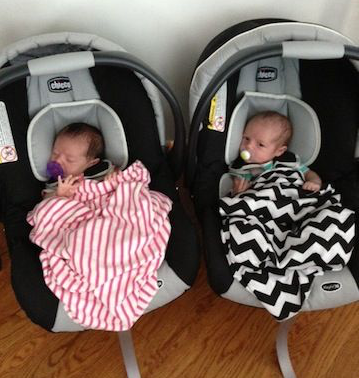 Excellent Best Car Seats For Twins And Preemies Lucies List Approved Creativecarmelina Interior Chair Design Creativecarmelinacom