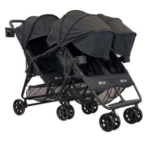 ZOE XL3 BEST v2 Triple Stroller: An Great Pick for Triplets & Quads